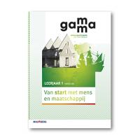 GaMMa - 2e editie Van start met mens en maatschappij themaboek 1 vmbo-bk 2016