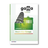 GaMMa - 2e editie Themaboek Dwars door Europa themaboek 2 vmbo-bk 2016